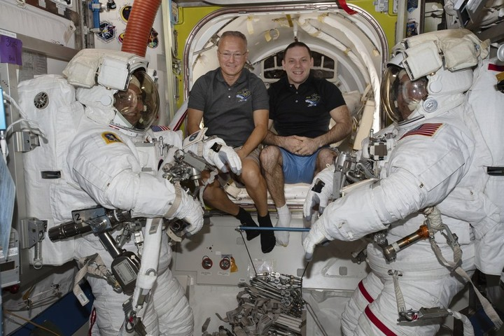 First astronaut splashdown in 45 years is set for Sunday, in the Gulf of Mexico to avoid Isaias