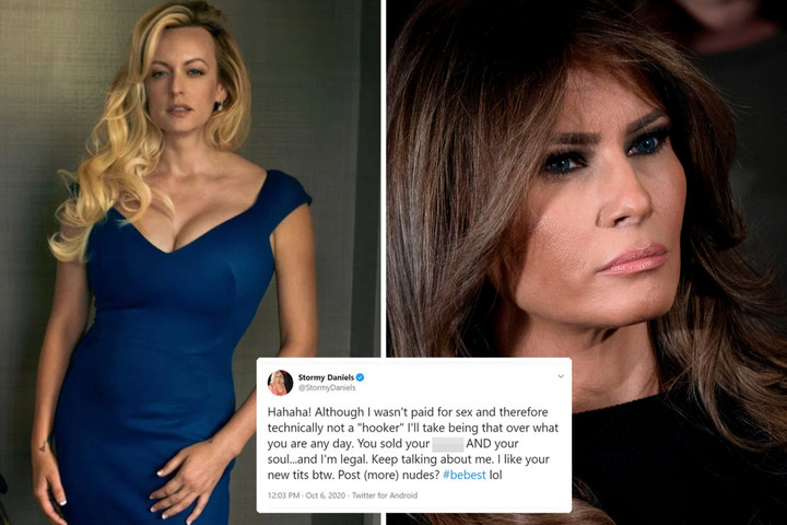 Stormy says Melania 'sold her p***y' after first lady 'called her a hooker'