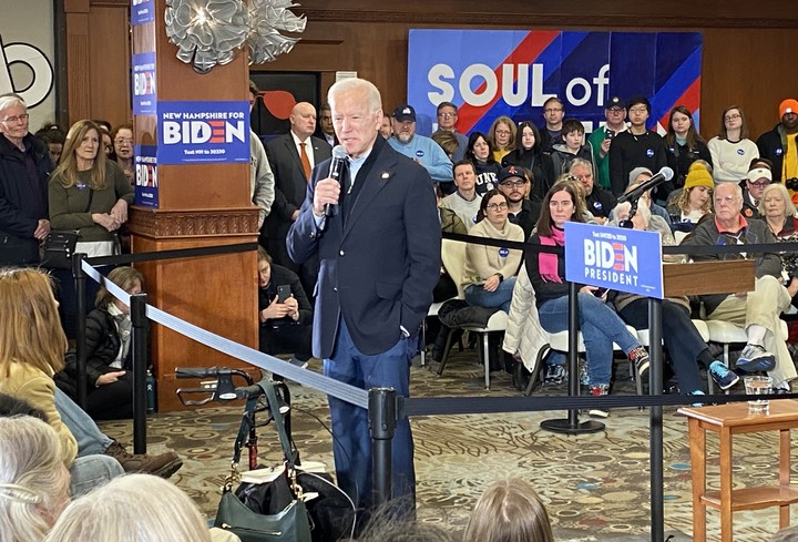 Biden fighting for survival in New Hampshire