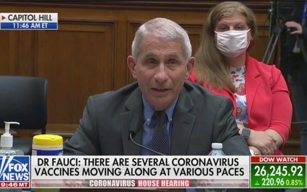 "Fauci Issues ""Disturbing"" Warning About COVID-19"