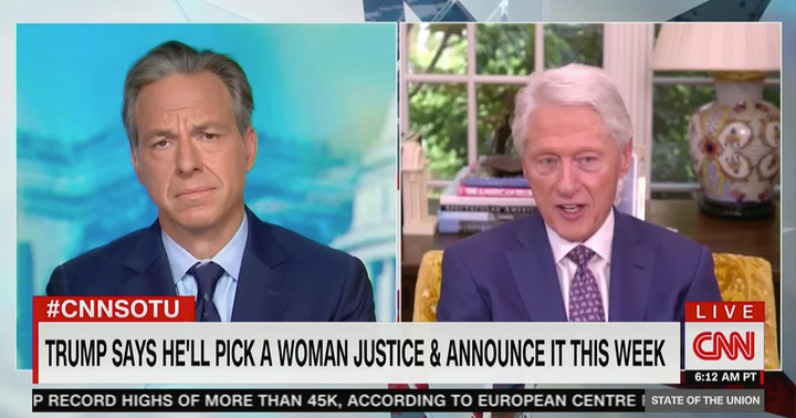 Bill Clinton Hits McConnell 'Power Play' on SCOTUS: 'When It's to His Advantage, the People Are Not Entitled to a Say'