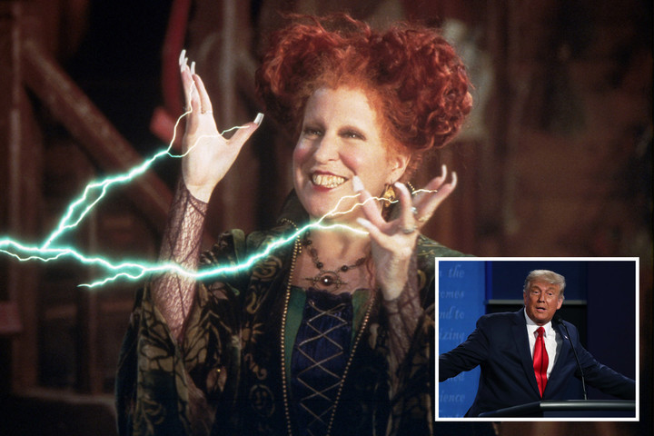 Thousands of witches plotting to cast 'spell' on Donald Trump on Halloween