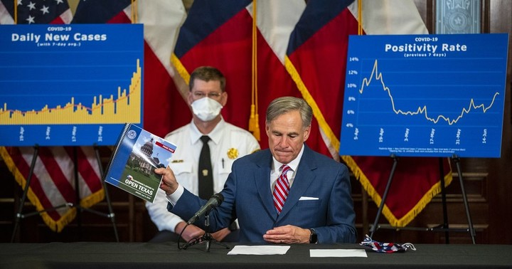 As Texas hits all-time high in new COVID-19 cases, Gov. Greg Abbott tightens outdoor gathering rules