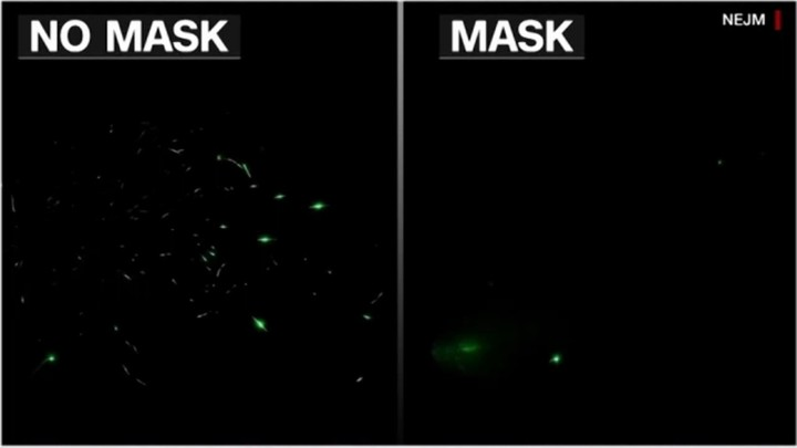 Coronavirus: New video study highlights how spit from talking travels in air with and without a mask