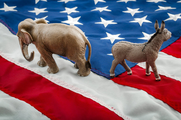 Political Polarization Peaking In America? Voters Embrace 'All Or Nothing' Mentality Along Party Lines