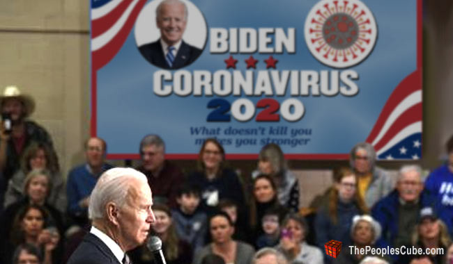Joe Biden picks Coronavirus as his 2020 running mate