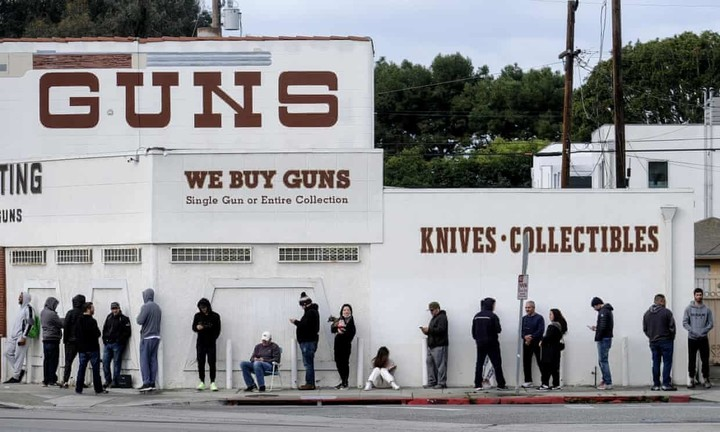 It's not just toilet paper:  People line up to buy guns, ammo over coronavirus concerns