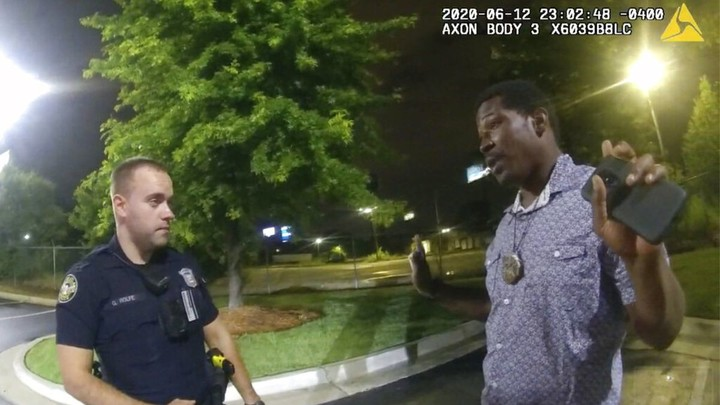 The shooting of Rayshard Brooks in Atlanta is justified.  The officer will eventually get his job back.  The Mayor is wrong.