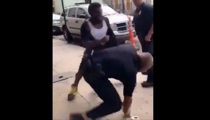 There would be no police brutality accusation ever if people didn't choose to resist arrest and fight with the police.