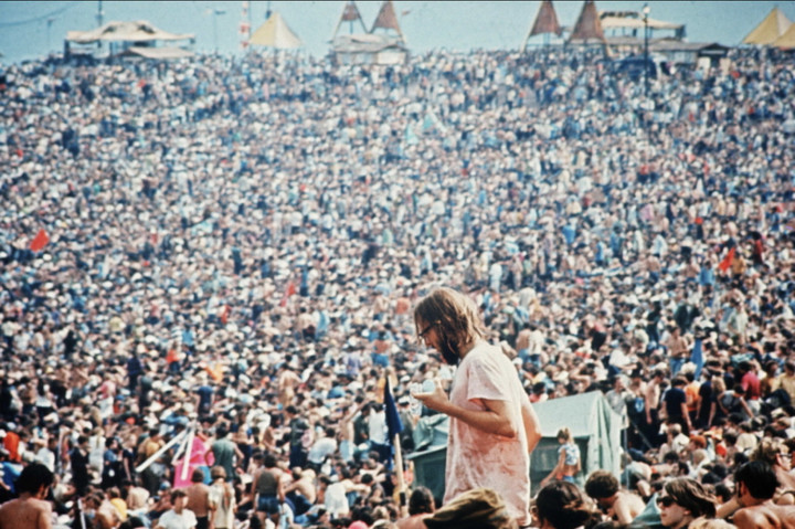 Woodstock-In the middle of the Hong Kong Flu that killed 100k Americans