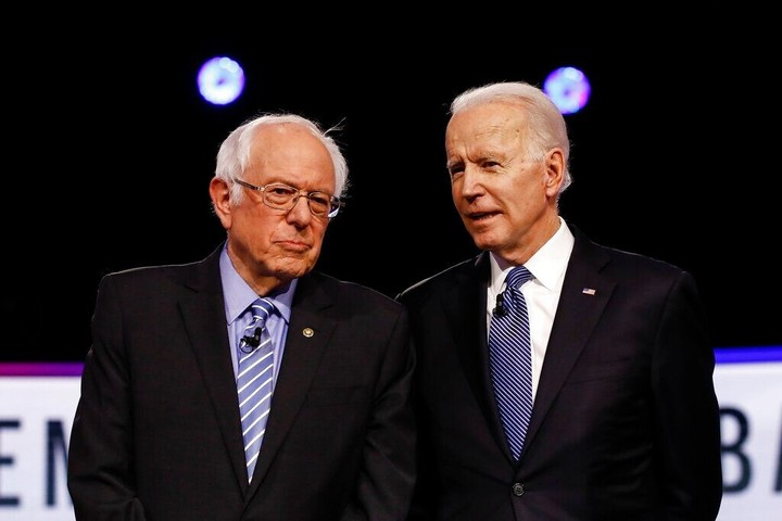 """Sanders delegates signing petition to vote against Dem platform that doesn't include 'Medicare-for-all.""""  Signs of Party split."""
