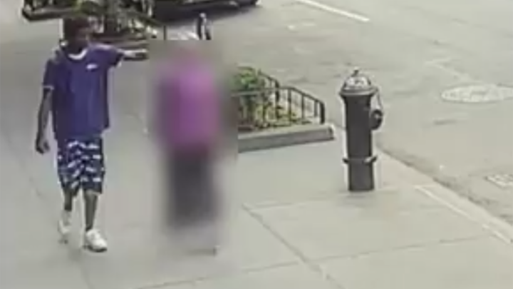 NYC woman, 92, shoved to the ground, video shows; suspect arrested