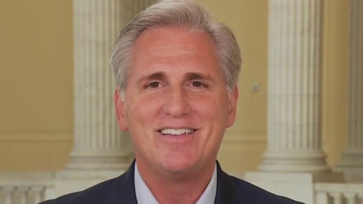 McCarthy warns if GOP doesn't win in November, Democrats 'will change the rules of the game'