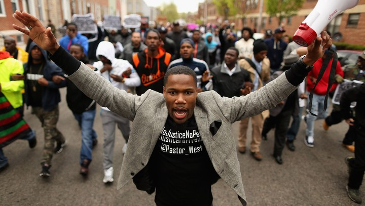Baltimore police stopped noticing crime after Freddie Gray's death. A wave of killings followed.