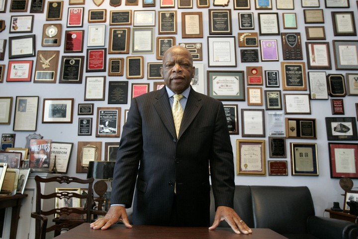 Remembering John Lewis, rights icon and `American hero'