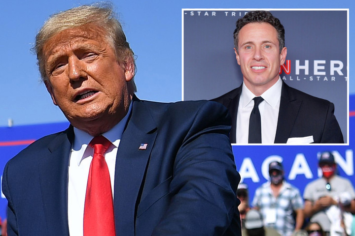 Trump calls CNN 'dumb bast**ds' & slams Chris Cuomo in fiery rally attack