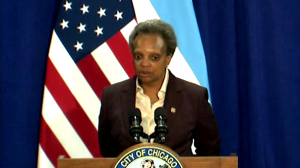 Chicago Mayor Lightfoot: Curfew On Liquor Sales Starts Thursday
