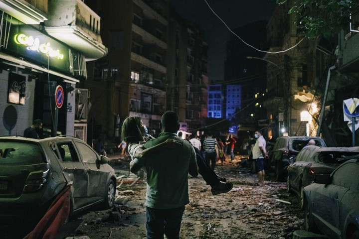 Shock turns to anger following fatal blast in Beirut