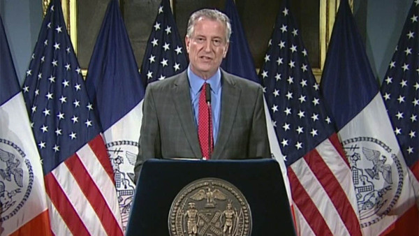 New York City To Paint 'Black Lives Matter' On Prominent Streets In All 5 Boroughs, De Blasio Says