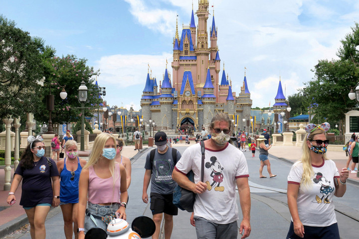 Disney World bans eating while walking after guests break face mask rules