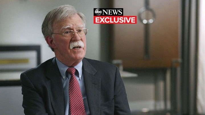 Bolton says he hopes Trump is 1-term president, warns country imperiled by his reelection