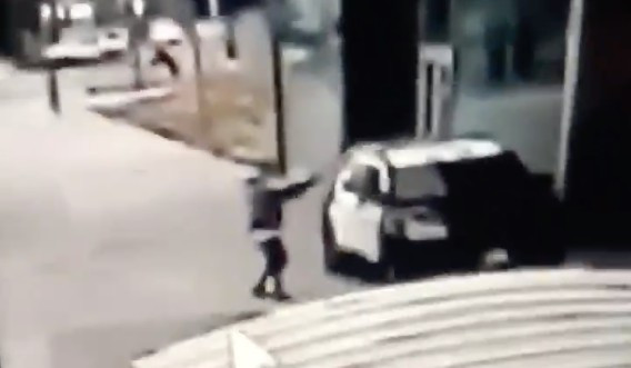 Video shows 2 deputies ambushed, shot while inside patrol vehicle in Compton; gunman at large: LASD
