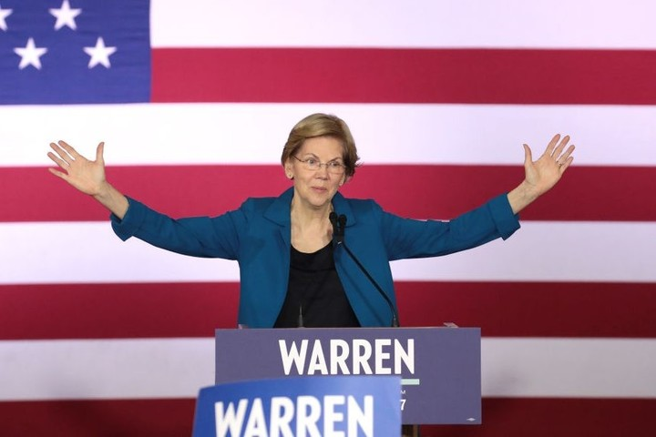 Time to drop out, Warren