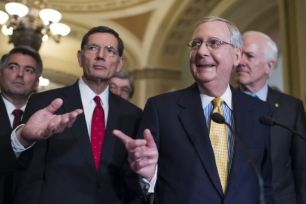 Mitch McConnell, Senate Complete Stimulus Check Swindle