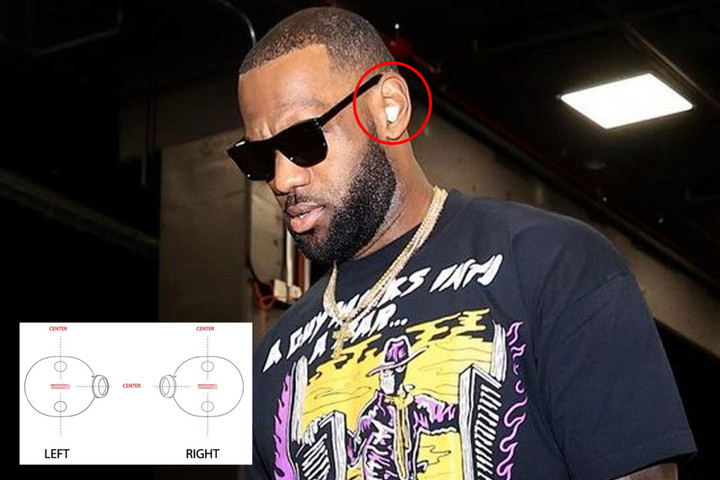 LeBron James pictured wearing top secret Apple headphones that aren't out yet