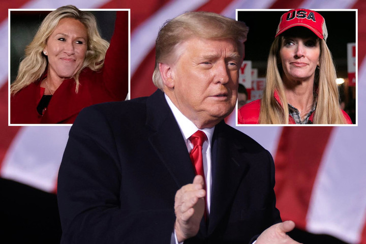 Trump mistakenly refers to Kelly Loeffler as 'Karen' and says he loves QAnon Rep