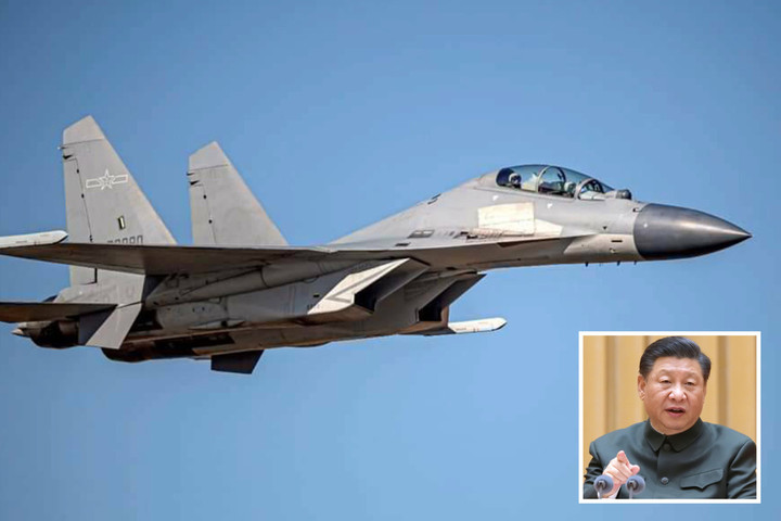 China flies 19 nuke jets into Taiwan air space for 'WW3 invasion' war games