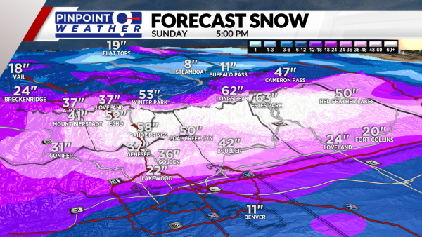 Thursday Midday Update: Major snowstorm still on track for this weekend