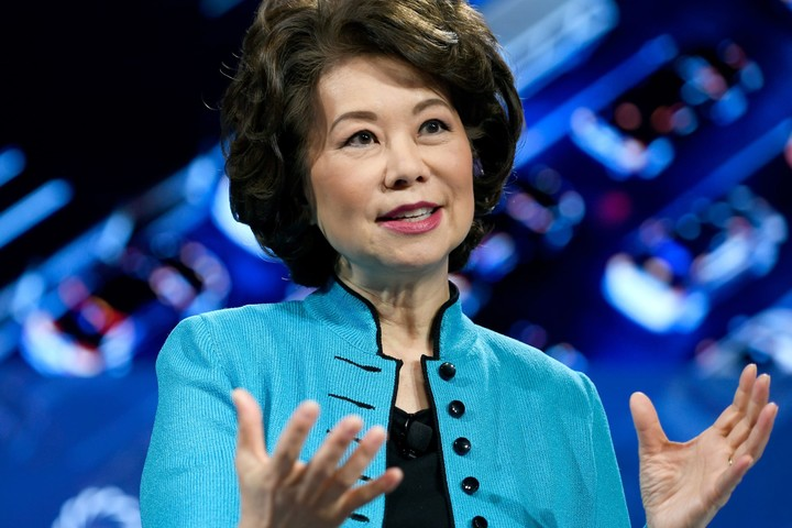 Transportation Secretary Elaine Chao is first Trump Cabinet member to quit after riot