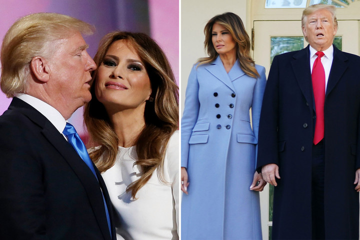 Melania 'counting the minutes until she can divorce Trump', ex-aides claim