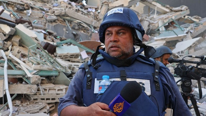 Press advocates condemn Israeli missile strike on media building