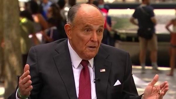 Rudy Giuliani Says U.S. Has 'Gone Off the Rails,' Denies He Has Alcohol Problem