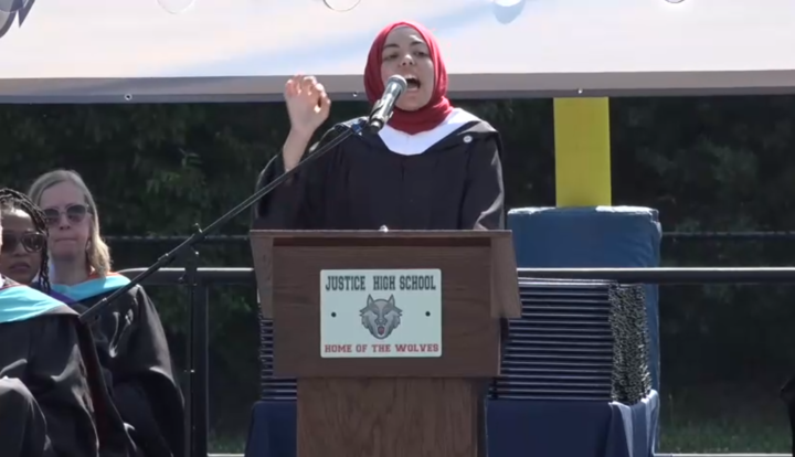 """Dem Tells High School Grads They're Entering A World Of """"Capitalism"""" and """"White Supremacy,"""" Encourages Them To Remember """"Jihad"""" And Reject Objectivity"""