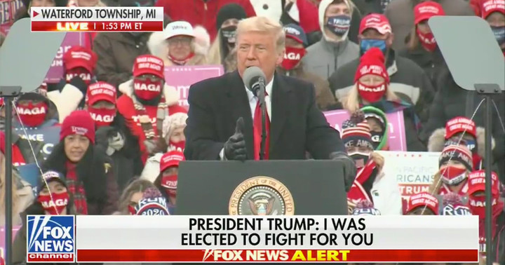 Trump Rallygoers Boo Fox News as President Bashes Network: 'I Don't Know What the Hell Happened' to Them