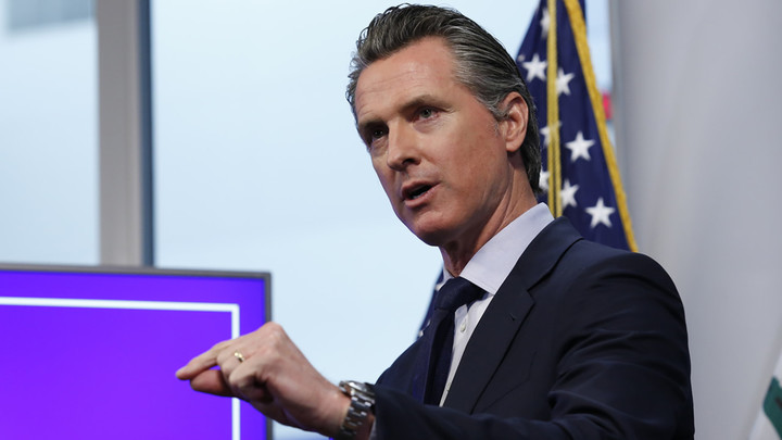 Gov. Newsom orders curfew for most California counties