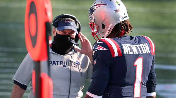 Bill Belichick Strongly Pushes Back On Notion That Cam Newton's Vaccination Status Impacted Patriots' Decision