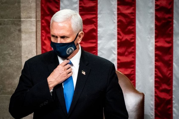 Mike Pence's 'nuclear football' was also apparently at risk during the Capitol siege