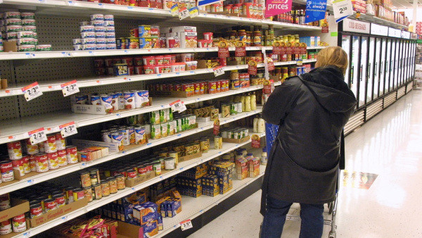 Shoppers Experience Sticker Shock At The Grocery Store