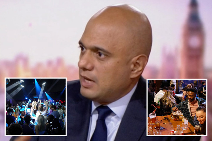 Covid vaccine passports SCRAPPED Sajid Javid confirms after Tory fury