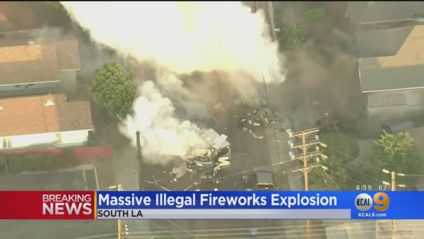 'It Felt Like A Really Hard Earthquake': Neighbors Shocked After 16 Injured In Botched Illegal Firework Detonation By Police
