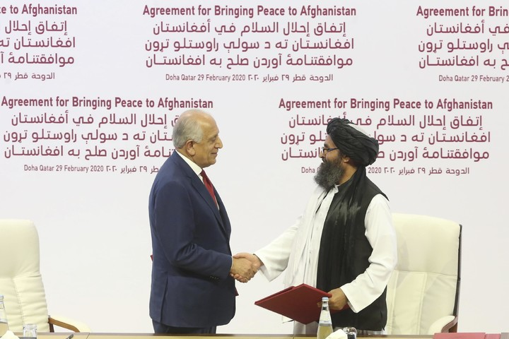 Was Biden handcuffed by Trump's Taliban deal in Doha?