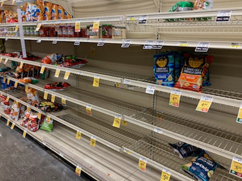 How Much Longer Will DFW-Area Store Shelves Be Nearly Empty Following Winter Storms?