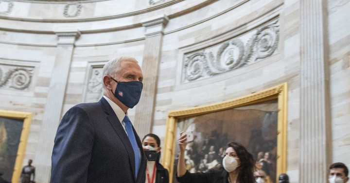 How the rioters who stormed the Capitol came dangerously close to Pence