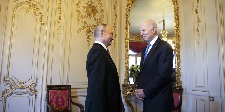 WSJ News Exclusive   Putin Rejected Role for U.S. Forces Near Afghanistan at Summit With Biden