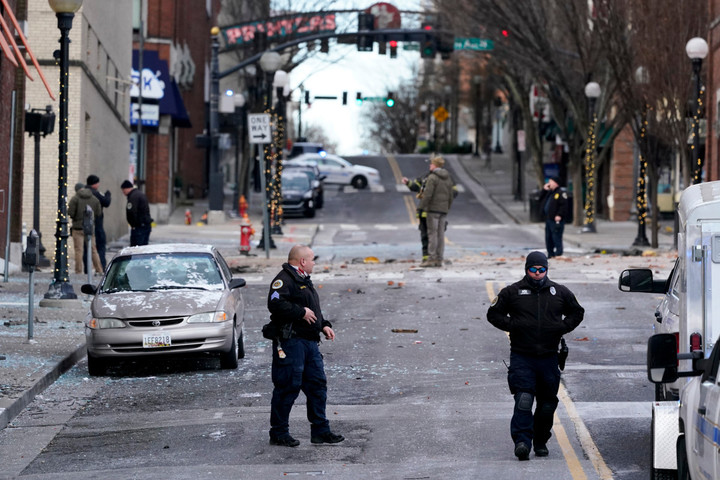 Human remains reportedly found near Nashville explosion site