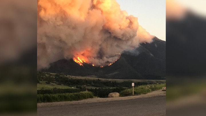 Infrared maps show Robertson Draw Fire now 20,000 acres in size